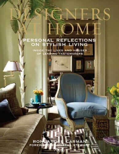 Designers at Home, Ronda Rice Carman, Rizzoli, Best Home Decor Books