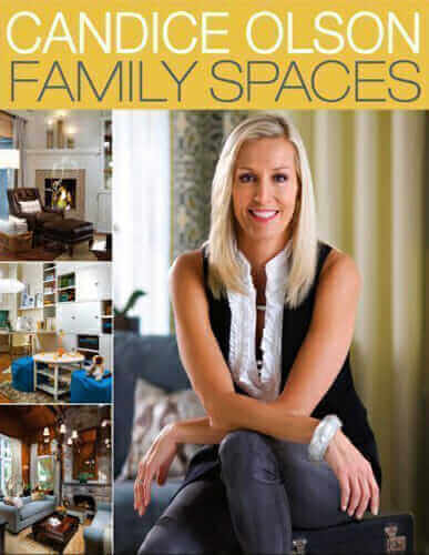 Family Spaces, Candice Olson, Houghton Mifflin Harcourt, Best Home Decor Books