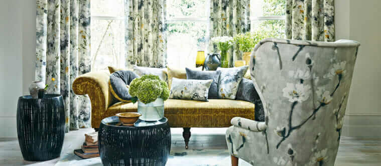 Coordinating Upholstery And Drapery Fabrics