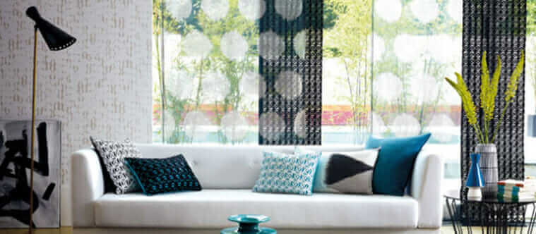 Sheer drapery, layering, window covering, burnout sheers, textured sheers, colourful sheers, new drapery ideas, custom drapery, drapery fabrics, drapery inspiration