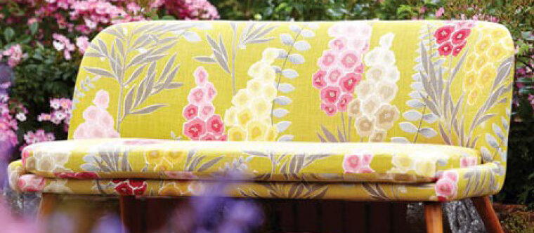 spring floral fabrics are so fab!