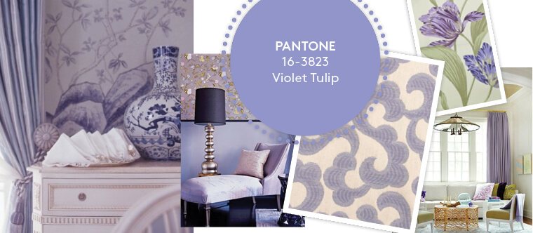 Decorating with Pantone's Top 10 Summer Colours - Violet Tulips