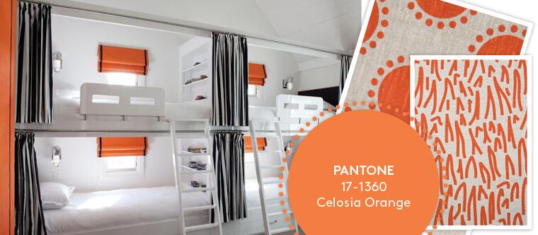 Decorating with Pantone's Top 10 Summer Colours - Celosia Orange