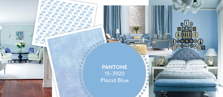 Decorating with Pantone's Top 10 Summer Colours - Placid Blue