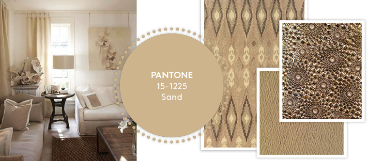 Decorating with Pantone's Top 10 Summer Colours - Sand