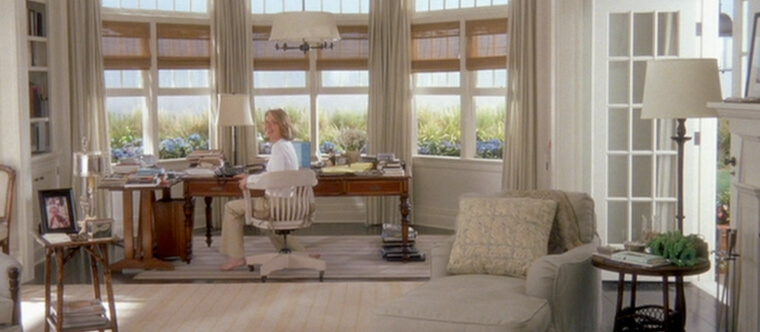 5 inspiring movie interiors sourced by National Drapery -   Something' s Gotta Give