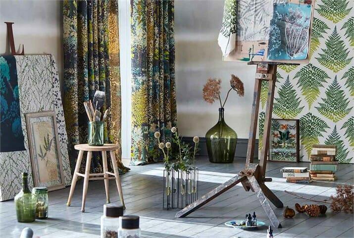 Lilaea Drapery Fabrics
