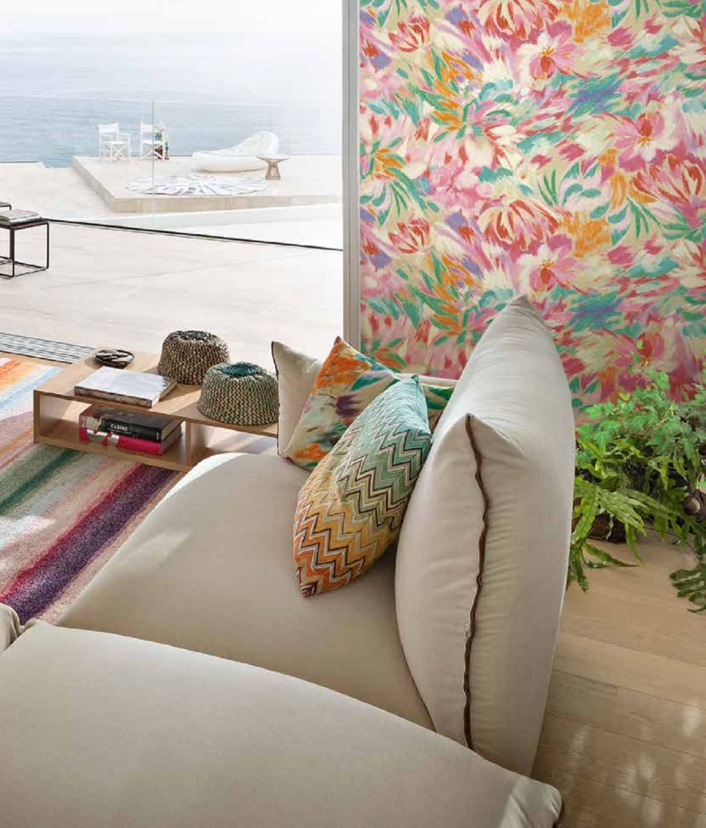 MissoniHome Designer Wallpaper